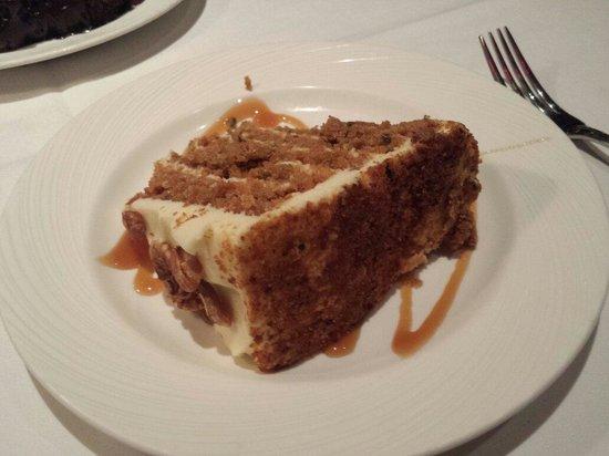 The Palm Tysons Corner: Carrot cake
