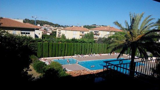 Maeva Résidence Eden Parc : Vue piscine