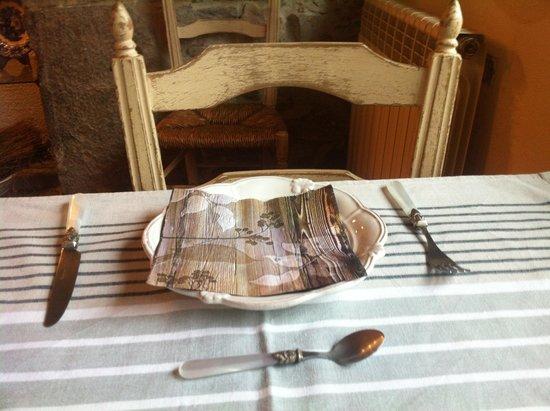 Casona de Quintana : desayuno