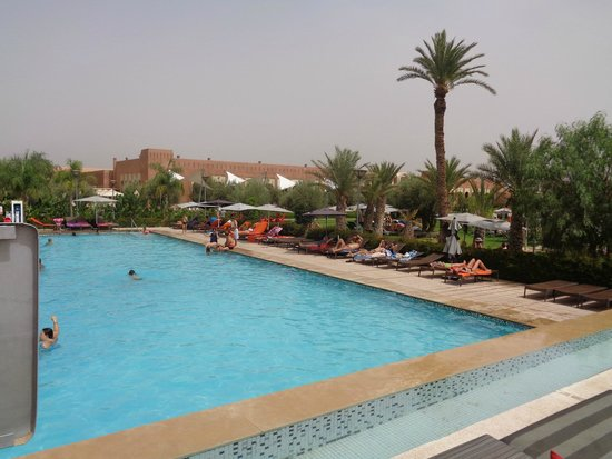 Kenzi Club Agdal Medina : Piscine de nage bcq plus agreable
