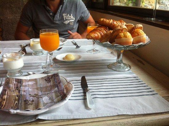Casona de Quintana: desayuno