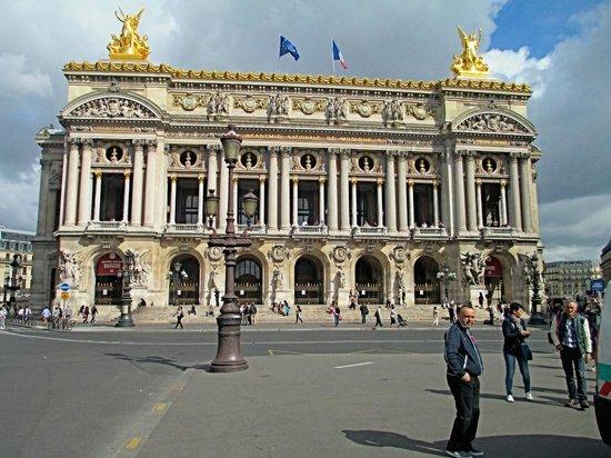 Opéra Garnier : The facade of the Palais Garnier
