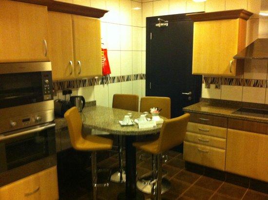 Kempinski Residences & Suites, Doha : Cucina