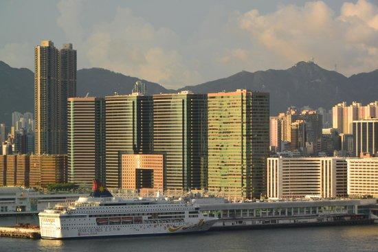 Mandarin Oriental, Hong Kong: From my room (7th floor) panorama