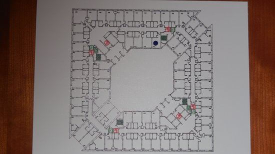 Sofitel London Gatwick : Floorplan