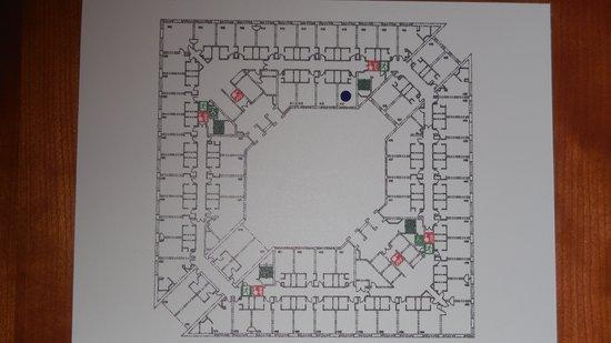 Sofitel London Gatwick: Floorplan
