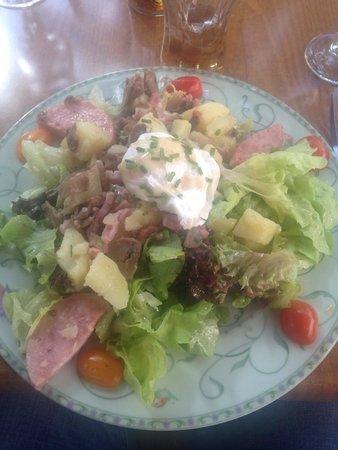 La Fille du Potager : La salade campagnarde
