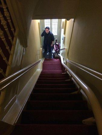 't Hotel: Escada íngreme!