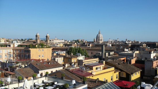 The First Roma: View from terrace