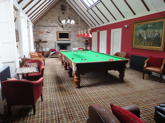 Carberry Tower Mansion House and Estate: Billiard Room