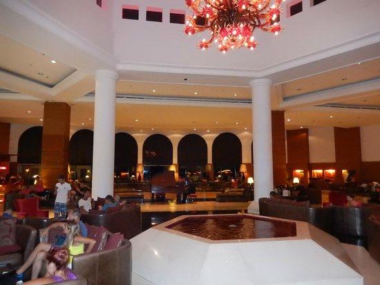 Cleopatra Luxury Resort Sharm El Sheikh: Main Reception Area