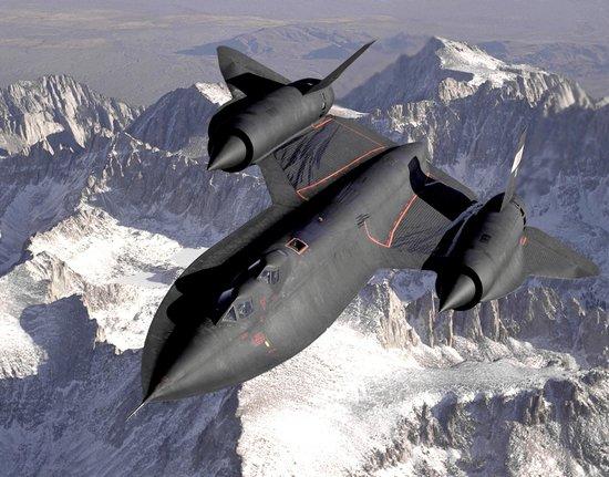 The Museum of Flight : Lockheed SR-71 Blackbird