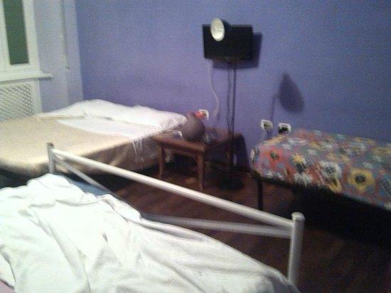 Appia Guest House: grande chambre pour moi seule !