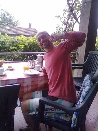 B&B Ronco Camana: Golosa colazione!