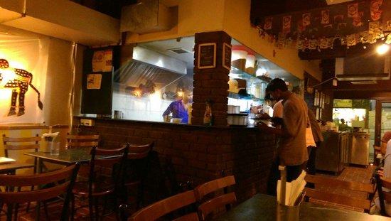 Carnatic Cafe: Kitchen