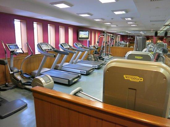 Crowne Plaza Bangkok Lumpini Park : Gym
