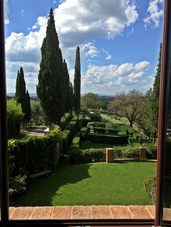 Villa Armena Relais: View from the hallway. 1st floor