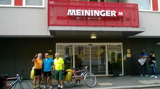 MEININGER Hotel Wien Downtown Sissi: Llegada al Hotel Ruta Passau/Wien