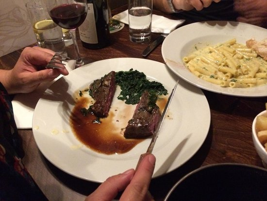 Red Lion: The steak was cooked to perfection!