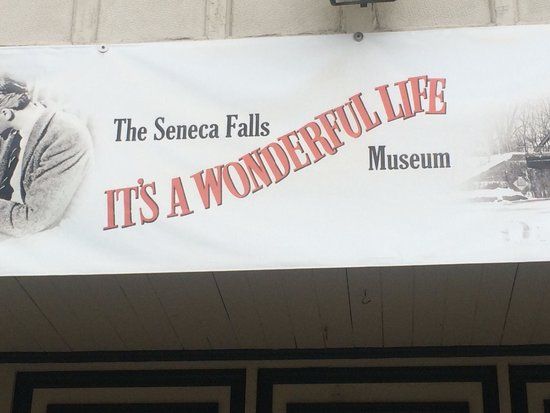 Seneca Falls, Estado de Nueva York: The entrance to the museum.