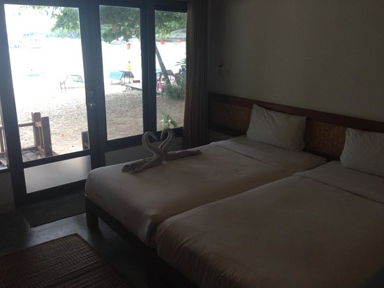 Samed Cabana Resort: View of room and view
