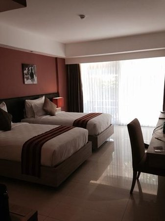 Sing Ken Ken Lifestyle Boutique Hotel : Twin Garden View Room