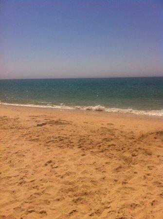 Hostal El Capi: playa de Barbate