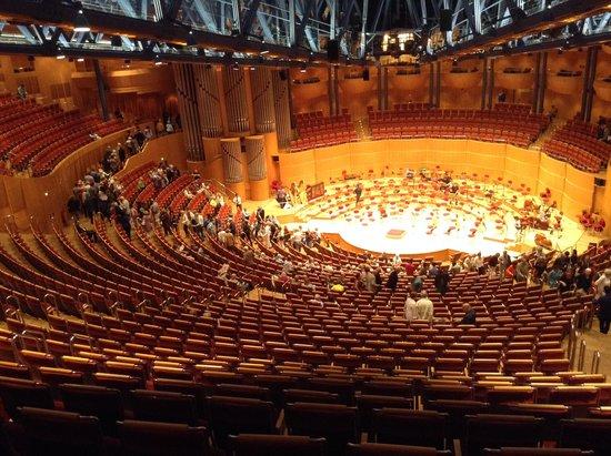 Kolner Philharmonie: Vista da última fila