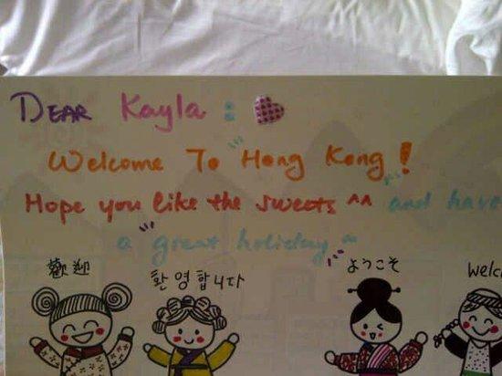 Four Seasons Hotel Hong Kong: Very child friendly!