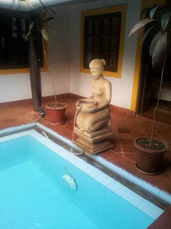 Siolim House : Lovely statue