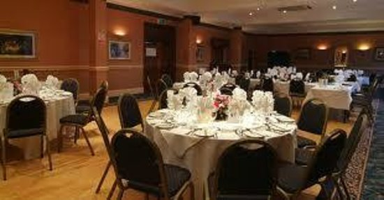 The Kensington Hotel: Set up for a function