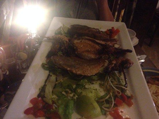 Dolmen Resort Hotel: Fish platter