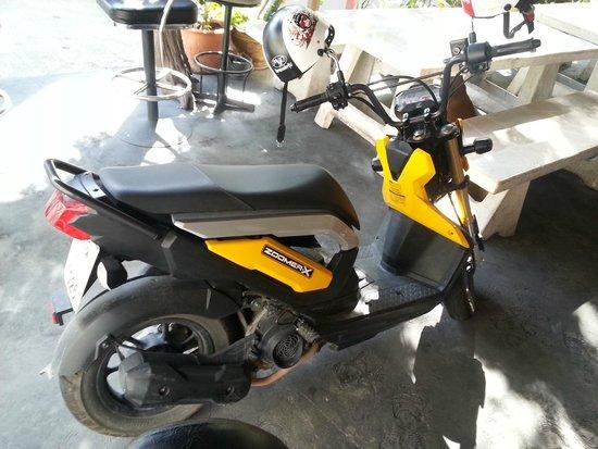 Mercure Pattaya Hotel: 近所で借りたレンタルバイク、これがあると便利です。1日200バーツ位から