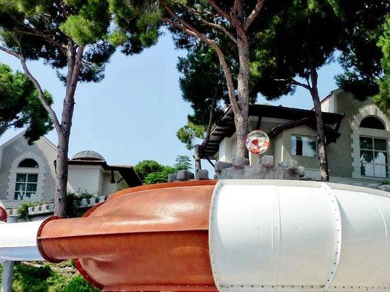 Maxx Royal Belek Golf Resort: Aqua Park Trichterrutsche