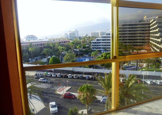 Hotel Best Tenerife : View from fifth floor