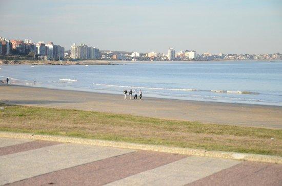 Rambla von Montevideo: La extensa rambla