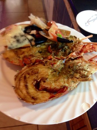 Memories Paraiso Beach Resort : Très bons fruits de mer !