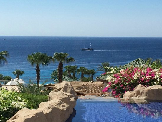 Hyatt Regency Sharm El Sheikh Resort : The view from the buffet