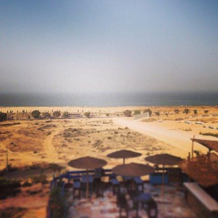 Free Surf Maroc : Vue de la terrasse