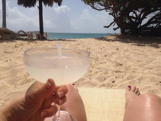 Luxury Bahia Principe Cayo Levantado Don Pablo Collection: 1st day margarita on beach