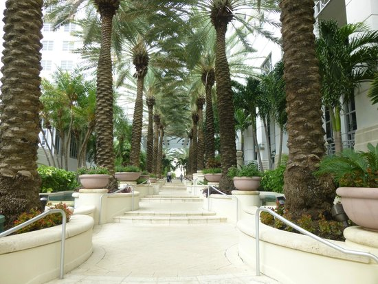 Loews Miami Beach Hotel: to pool and beach area