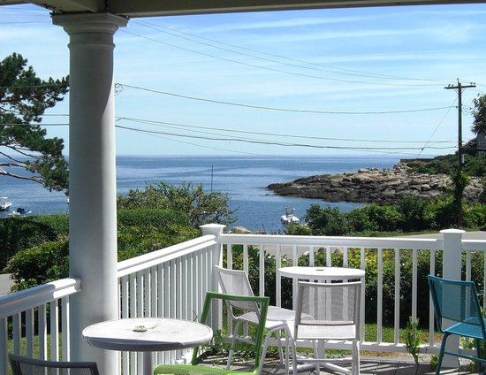 The Seafarer Inn: Straitsmouth Cove from the front porch