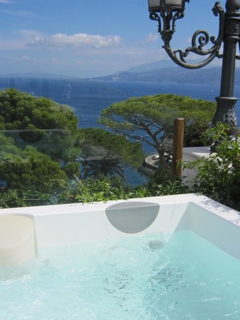 Hotel Excelsior Parco: Rooftop jacuzzi