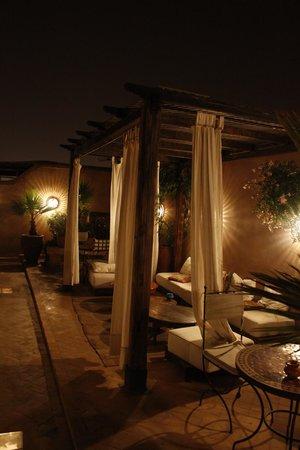 Riad 107: Terrasse
