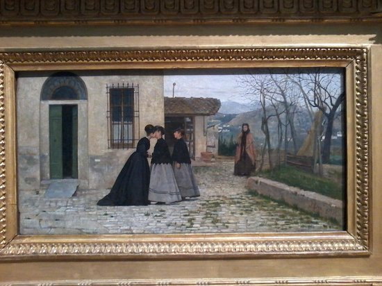 Galleria Nazionale d'Arte Moderna (GNAM): Lega, La visita