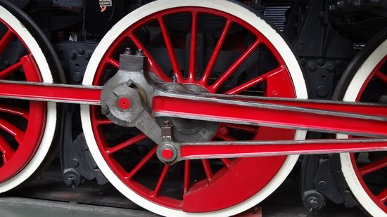 National Railway Museum: Big wheels no longer turning
