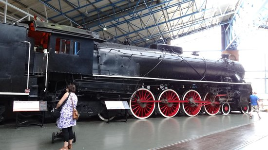National Railway Museum: When trains were good looking.