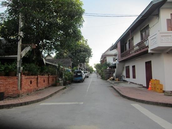 Old Quarter Luang Prabang : 長閑かです…