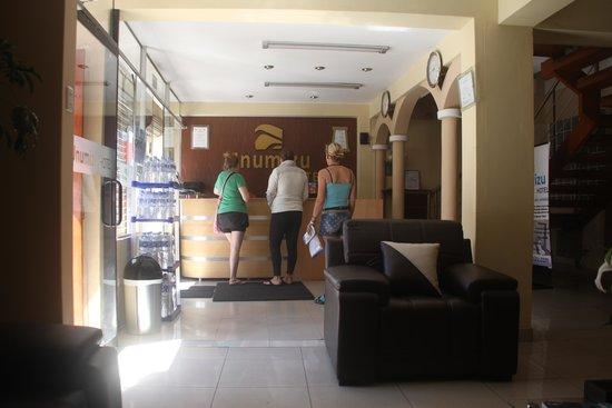 Hotel Unumizu Cusco: Unumizu reception