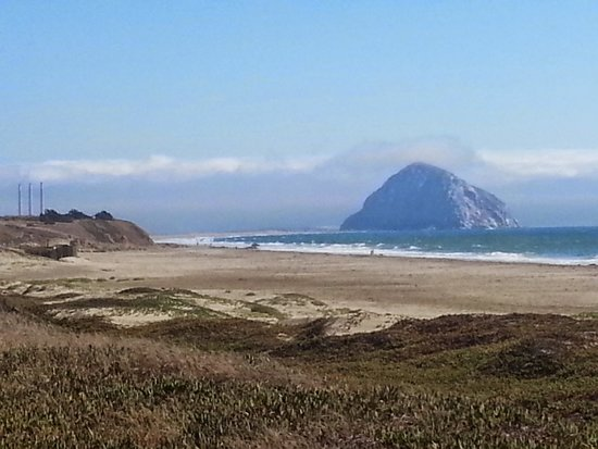 "Econo Lodge: Morro Bay ""rock"" from the north."